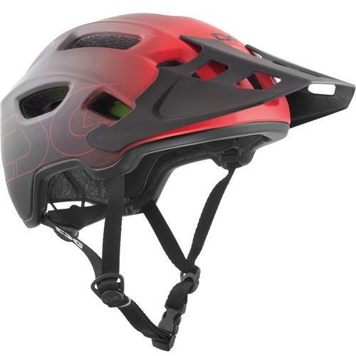 trailfox graphic design kask rowerowy, fade to red s/m | 54-58cm 2019 kaski mtb marki Tsg