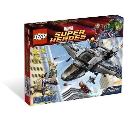 Lego SUPER HEROES Quinjet i starcie 6869