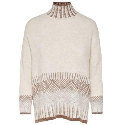 Sweter ze stójką z cienkiej dzianiny (5713612530173)