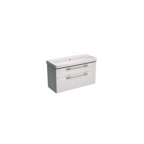 KOŁO szafka + umywalka bez otworu na baterię Traffic 120 biały połysk 89439-000+L91020000, 89439-000.L91020000