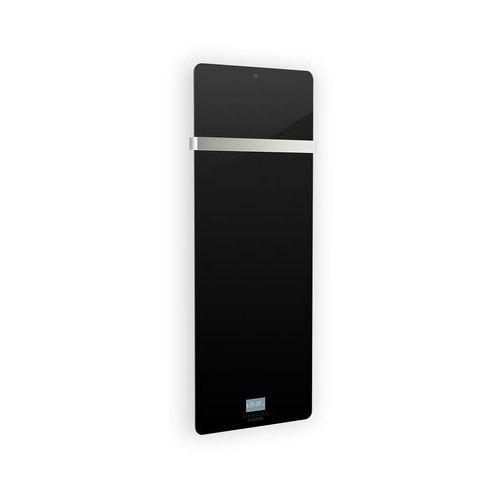 Klarstein hot spot crystal ir panel grzewczy na podczerwień 45 x 120 cm 20 m² 850 w 5–40°c ip24 kolor czarny (4060656110214)