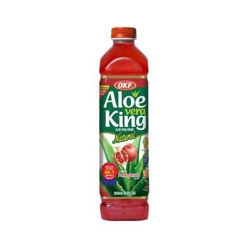 1,5l aloe vera king napój aloesowy o smaku granatów marki Okf