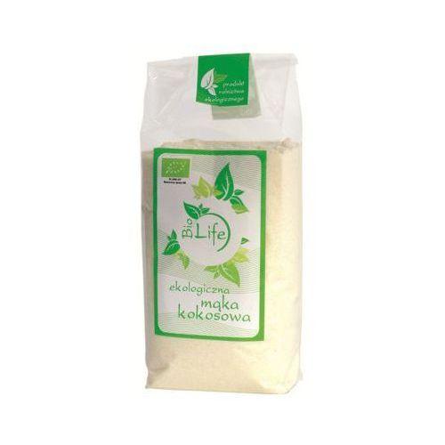 250g mąka kokosowa o niższej zawartości tłuszczu bio marki Biolife