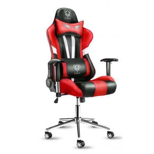 Fotel diablo x-eye czarno-biało-czerwony + darmowy transport! marki Diablo chairs