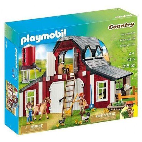 Playmobil COUNTRY Gospodarstwo rolne z silosem 9315