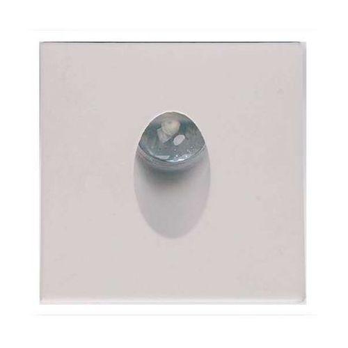 Schodowa lampa ścienna hl957l 02616 podtynkowa oprawa metalowa led 3w kwadratowy wpust minimalistyczny biały marki Ideus