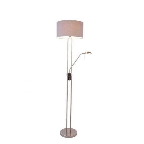 Lampa podłogowa PEDRO SL570-2-SS+GR -Zuma Line - Zapytaj o kupon rabatowy, 1848-028-200-000-0001