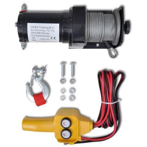 vidaXL Wciągarka elektryczna 12 V, z przewodowym sterowaniem