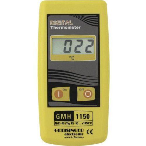 Termometr przemysłowy Greisinger GMH 1150 604208, -50 do +1150 °C, do czujników typu K, GMH 1150