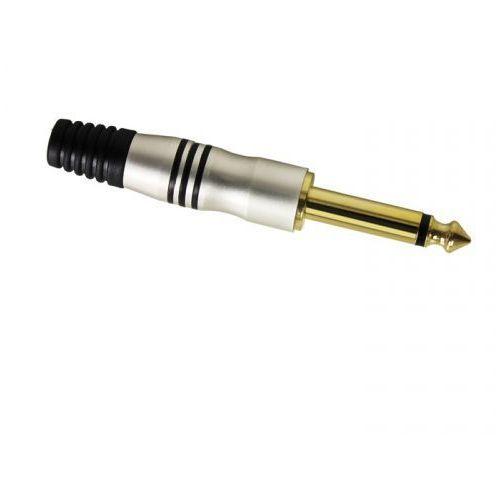 Adam Hall Connectors 7510 - Wtyczka jack 6,3 mm mono, złoty
