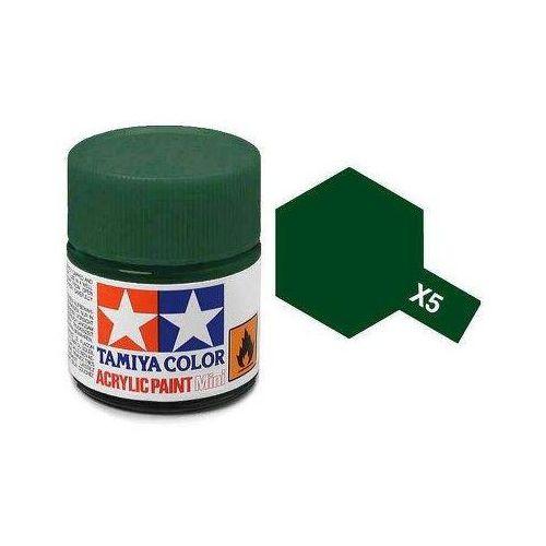 Tamiya Farba akrylowa - x5 green gloss / 10ml 81505 (45032745)