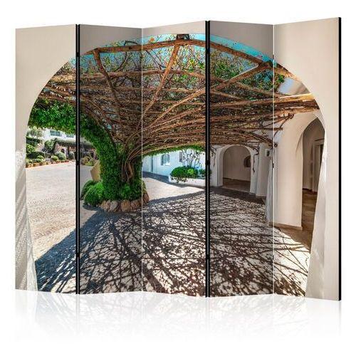 Artgeist Parawan 5-częściowy - altana z drzew - poltu quatu, włochy ii [room dividers]