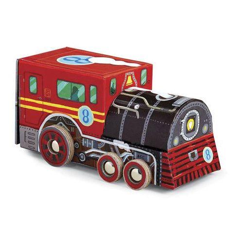 Puzzle lokomotywa 48 marki Crocodile creek