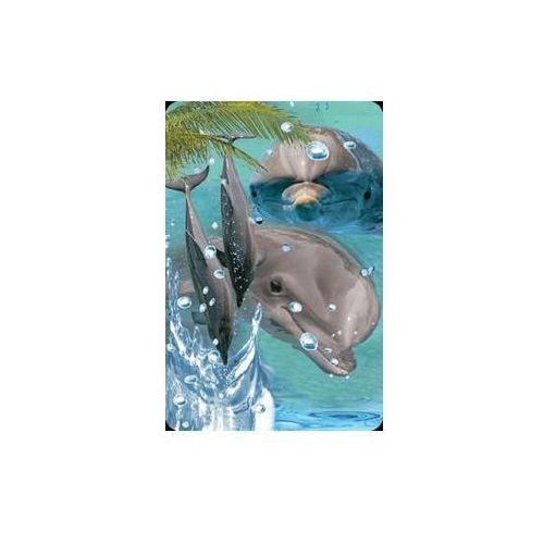 Minikartka 3D - Delfin - WORTH-KEEPING OD 24,99zł DARMOWA DOSTAWA KIOSK RUCHU
