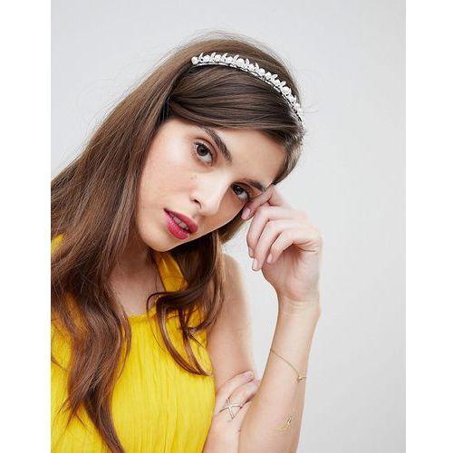 silver embellished hair band - silver marki True decadence