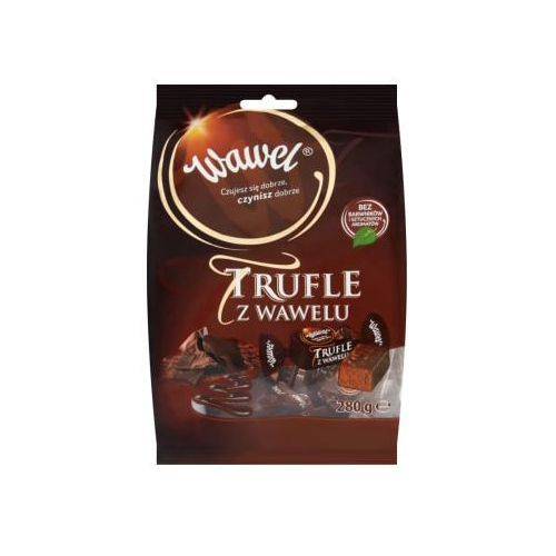280g trufle w czekoladzie cukierki o smaku rumowym marki Wawel