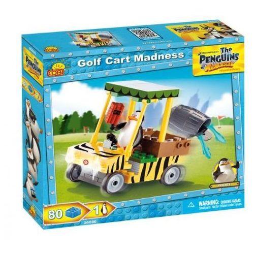 COBI Pingwiny Wózek golf owy zest. 80 kl.
