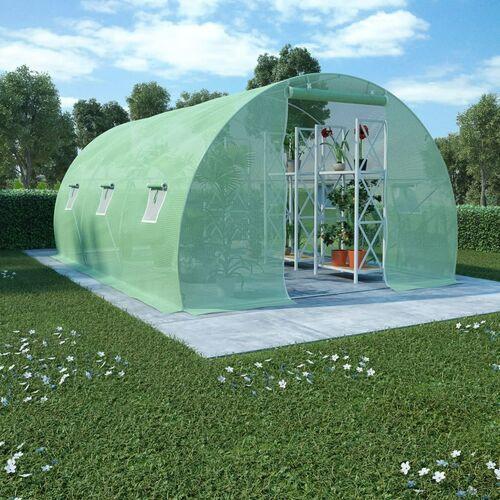 szklarnia ogrodowa, stalowa konstrukcja, 13,5m², 450x300x200cm marki Vidaxl