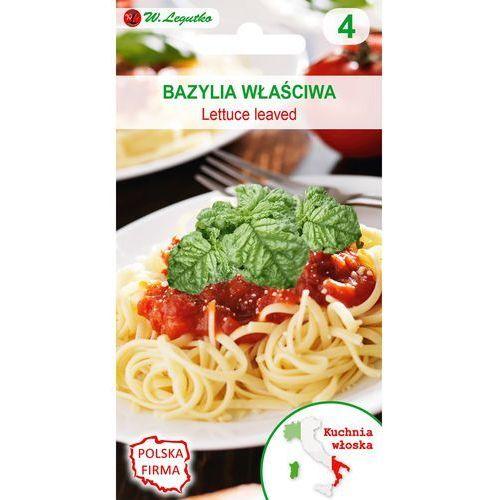 Legutko Bazylia Lettuce leaved kuchnie świata 1g