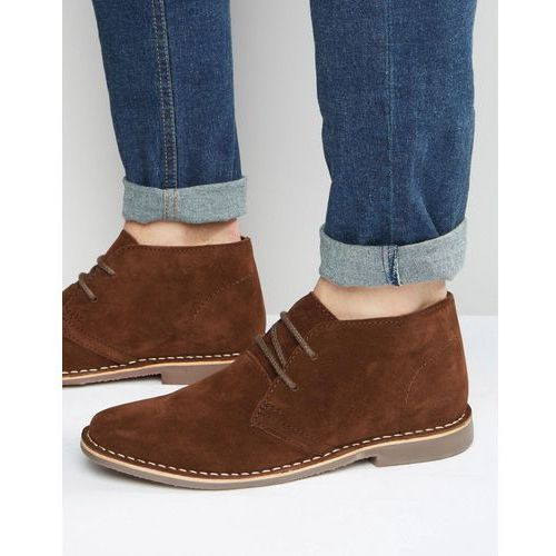 desert boots brown suede - brown, Red tape