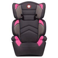 Lionelo fotelik samochodowy 15-36 kg Lars Plus różowy/szary (5902581657206)
