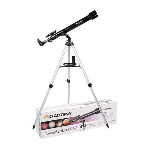 Teleskop CELESTRON PowerSeeker 60AZ, HA-199590. Najniższe ceny, najlepsze promocje w sklepach, opinie.