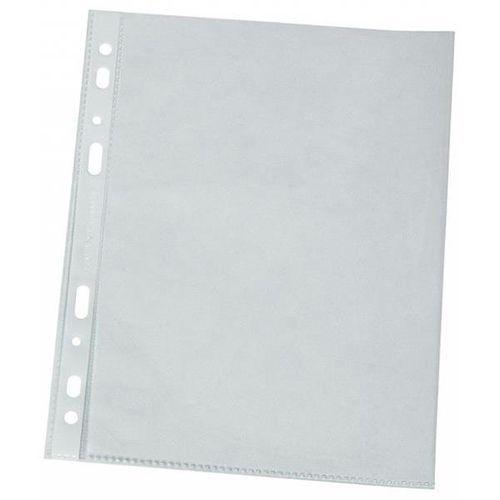 Koszulki na dokumenty , pp, a4, groszkowe, 120mikr., 100szt., w pudełku marki Q-connect