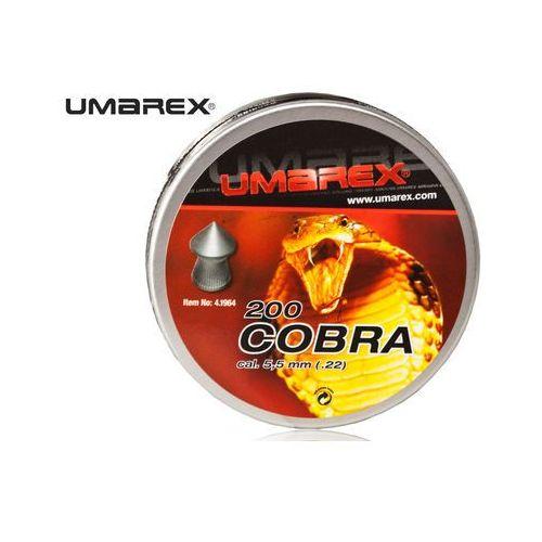 Śrut 5,5 mm UMAREX COBRA szpic moletowany 200szt z kategorii Amunicja do wiatrówek
