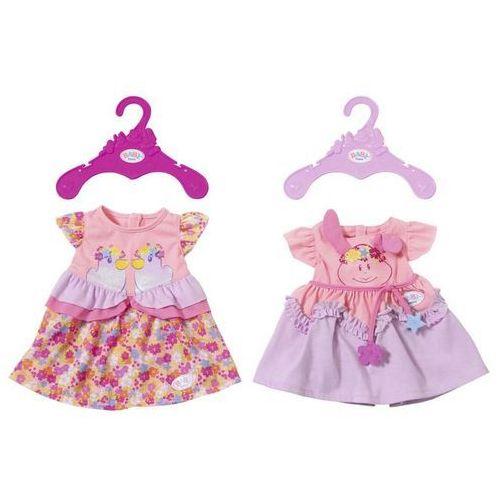 baby born kolekcja sukienek marki Zapf