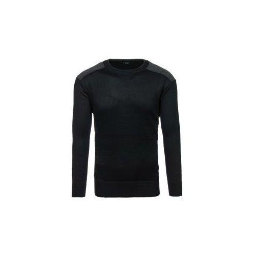 Sweter męski czarny denley bm6037 marki S-west