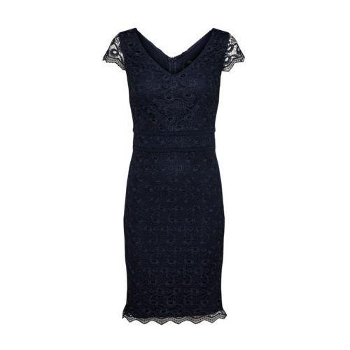 S.oliver black label kurz sukienka letnia deep blue