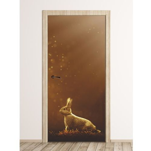 Fototapeta na drzwi bajkowy królik fp 6247 marki Wally - piękno dekoracji