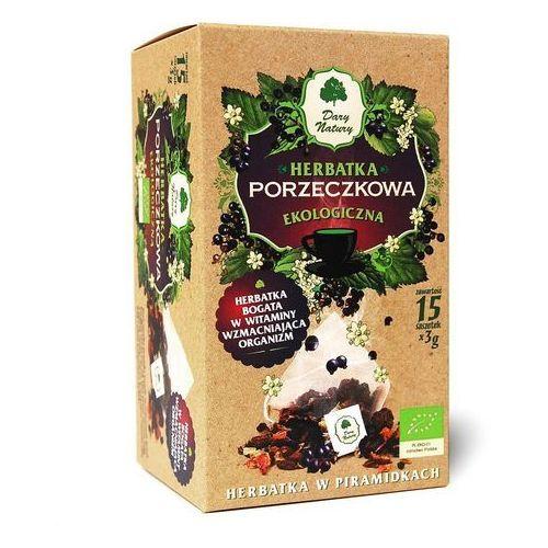 Herbatka Porzeczkowa Piramidki BIO 15 x 3 g Porzeczka Herbata Dary Natury