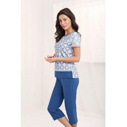 Piżama Luna 542 kr/r M-2XL 2XL, niebieski. Luna, 2XL, L, M, XL, kolor niebieski