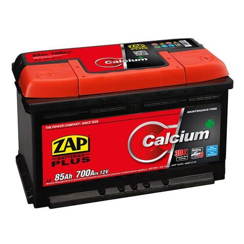 Zap Akumulator calcium plus 85ah 700a wysoka prawy plus