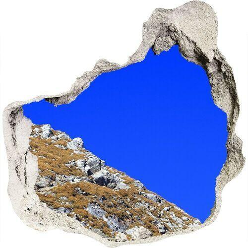 Dziura 3d w ścianie naklejka Giewont Tatry