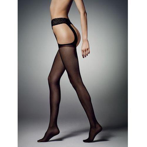Rajstopy sexy strip 20 den 3-m, czarny/nero, veneziana marki Veneziana