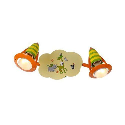 Luxera 28013 - dziecięcy reflektor safari 2xe14/40w/230v