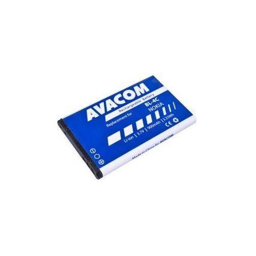 Bateria do telefonu Avacom dla Nokia 6300, Li-Ion 3,7V 900mAh ( BP-4C)