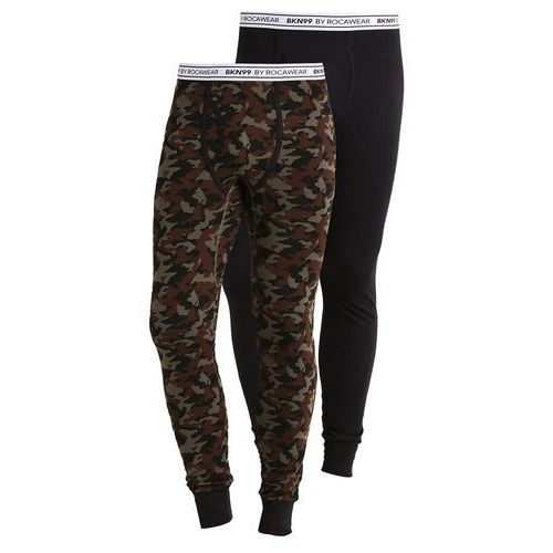 Brooklyn's Own by Rocawear LONG JOHN 2 PACK Kalesony camo black/camo kaki