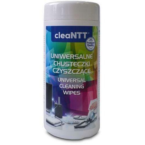 Chusteczki czyszczące cleantt cln0040, nawilżone, uniwersalne, 100 szt. marki Ntt system