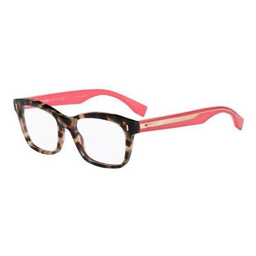 Okulary korekcyjne  ff 0027 color block hk3 marki Fendi