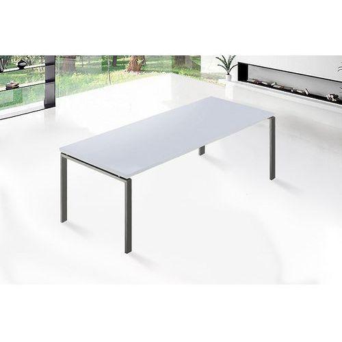 Beliani Luksusowy stół jadalniany ze stali nierdzewnej 220cm - stół arctic ii (7081458368877)