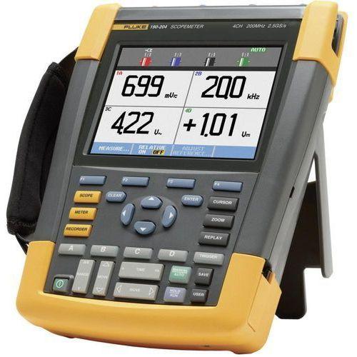 Skopometr Fluke 190-204/EU/S 200 MHz 4-kanałowy 2.5 GSa/s 10 kpts 8 Bit
