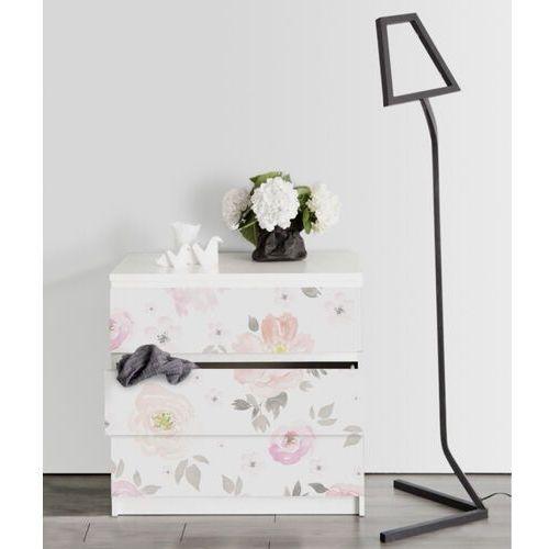 Naklejki Ikea Malm Zanikające Kwiaty Vintage