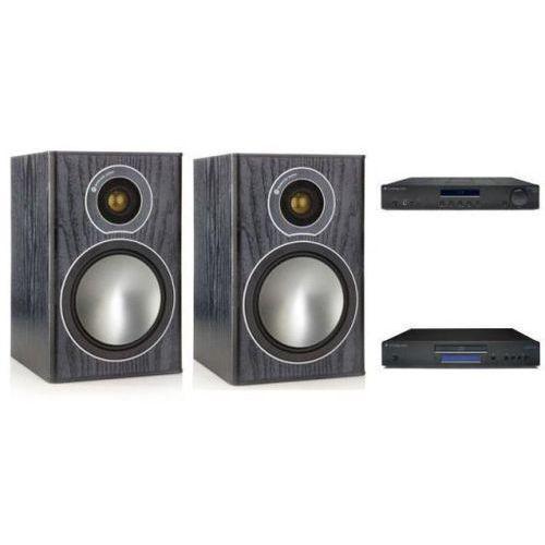 Zestawy Cambridge audio am10 + cd10 + monitor audio br1