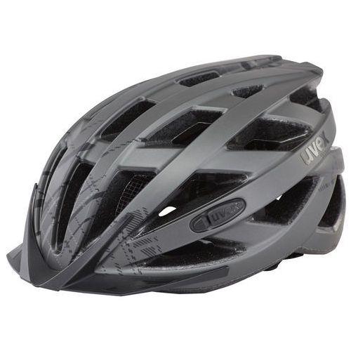 UVEX City I-VO Kask rowerowy, dark silver mat 56-60cm 2019 Kaski miejskie i trekkingowe (4043197254814)
