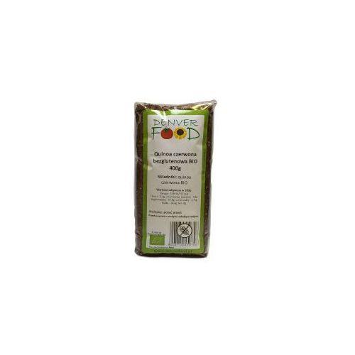 Denver food Quinoa czerwona bezglutenowa (komosa ryżowa) bio 400 g  (5904730450706)