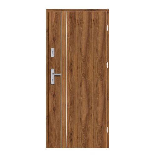 Drzwi wewnątrzklatkowe Ateron Lux 80 prawe dąb stary 3D