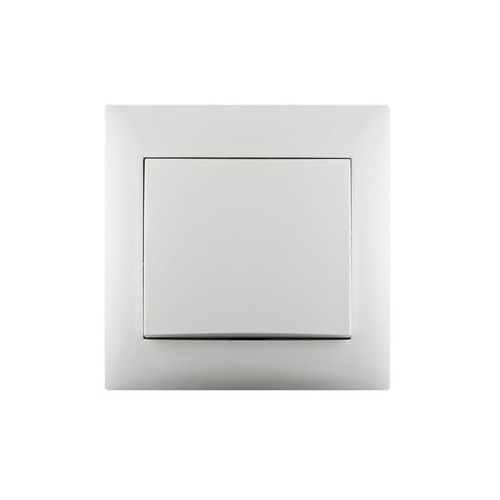 Włącznik pojedynczy KRZYŻOWY LIKA Biały LEXMAN (3276000704799)